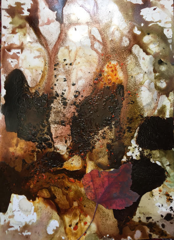 Jane Deering Gallery Selection of works Oil and acrylic on paper
