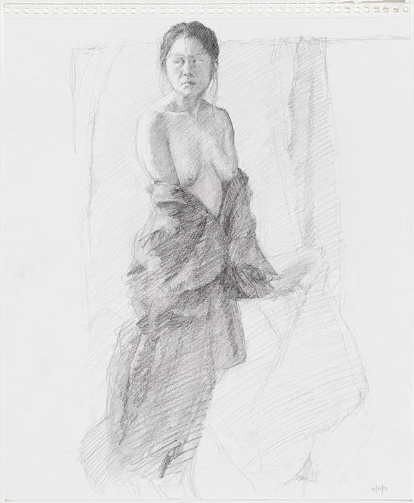 Jane Deering Gallery Selection of works Graphite pencil on drawing pad
