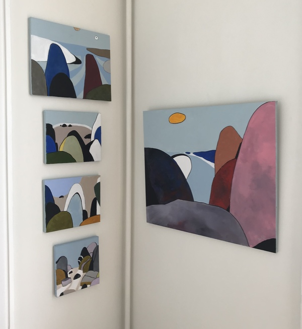 Jane Deering Gallery Pia Juhl | Rocks Around the Cape
