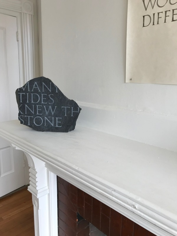 Jane Deering Gallery WITHIN / WITHOUT Found stone
