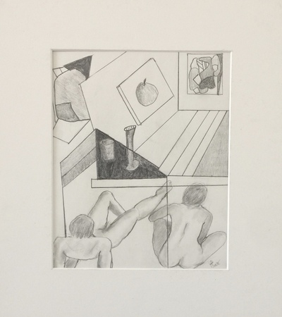 Jane Deering Gallery Formally Taught ..... And Not Graphite on paper