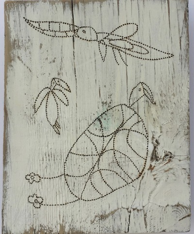 Jane Deering Gallery Formally Taught ..... And Not Pyrography on found wood