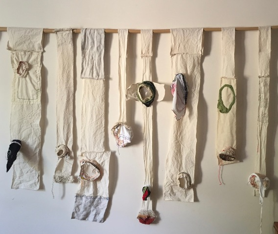 Jane Deering Gallery Gail Barker | Art as Process Cotton, linen thread, yarns