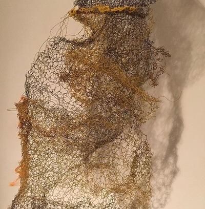 Jane Deering Gallery Gail Barker | Art as Process Found wire, yarn, thread
