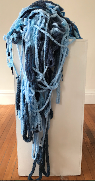 Jane Deering Gallery Gail Barker | Art as Process Wool yarn