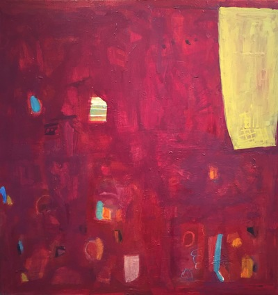 Jane Deering Gallery Juni Van Dyke | The Journey ... then and now Acrylic on board