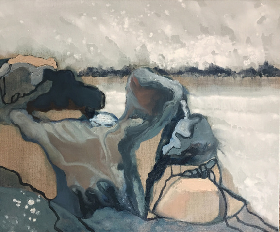 Jane Deering Gallery Amy Robson | Keep Looking Oil on canvas