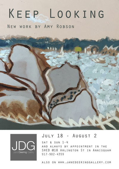 Jane Deering Gallery Amy Robson | Keep Looking Due to COVID-19, viewing of works will be in the SHED (open to the air and with good circulation) @ Jane Deering Gallery