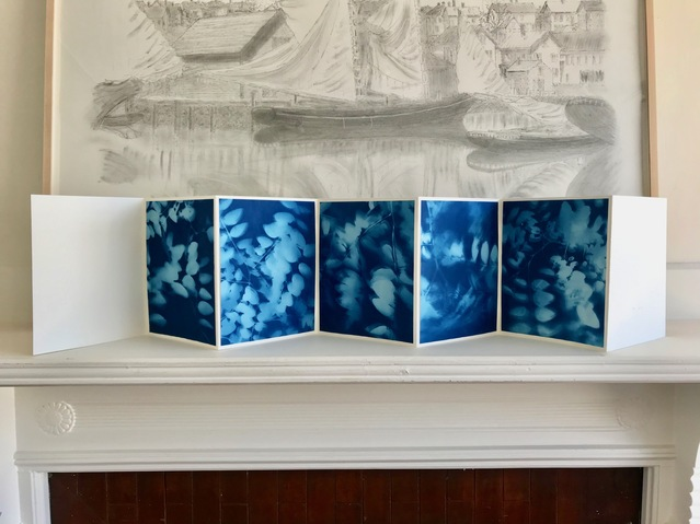 Jane Deering Gallery Gloucester, Cape Ann | of time and place Cyanotype