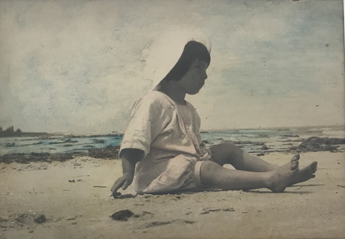 Jane Deering Gallery Gloucester, Cape Ann | of time and place Hand-tinted photograph
