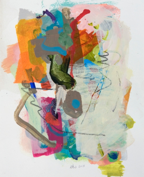 Jane Deering Gallery Gina Werfel Mixed media on paper