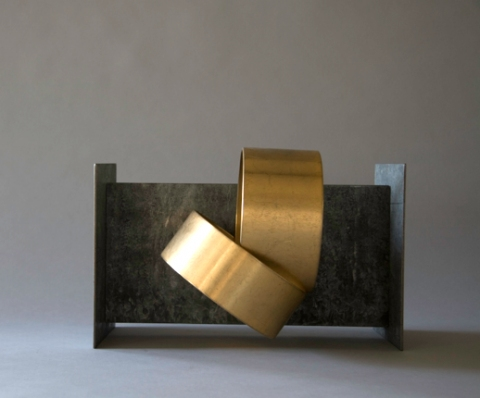 Jane Deering Gallery Alice Hutchins Plated steel, galvanized metal, ferrite magnet