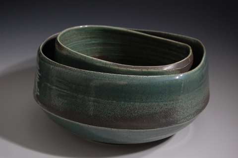 Jane Deering Gallery Exhibition:  Ceramics . 'A Thousand Hours' Glazed porcelain
