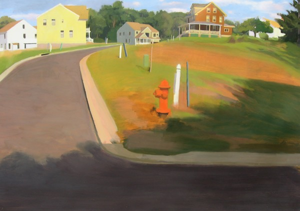 Jane Deering Gallery Exhibition: The Land Has Many Parts . selected images Oil on panel