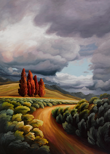 Jane Deering Gallery Selected works by California artists Oil on canvas