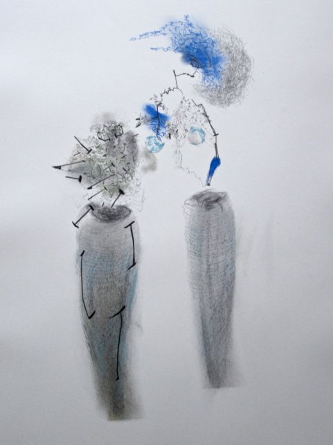 Jane Deering Gallery Selected works by California artists Charcoal, chalk and graphite on Strathmore