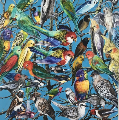 Jane Deering Gallery Archived Exhibitions Birds of a Feather