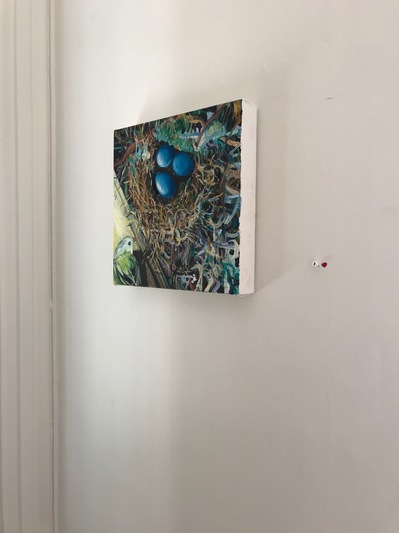 Jane Deering Gallery Exhibitions Installation shot of 'Not My House'