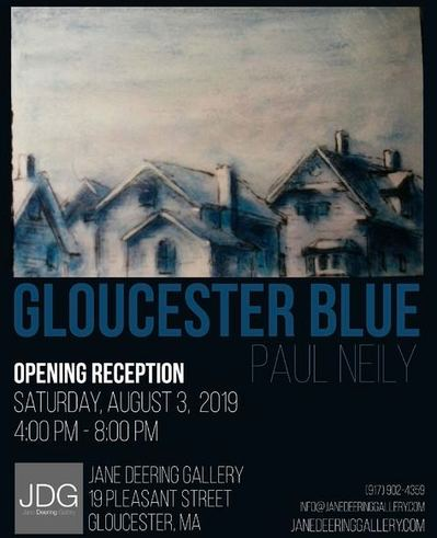 Paul Neily-- Gloucester Blue Announcement