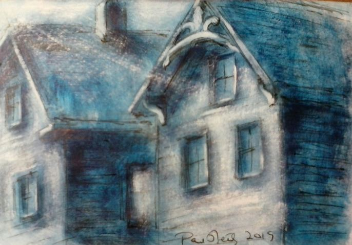 Paul Neily-- Gloucester Blue School Street