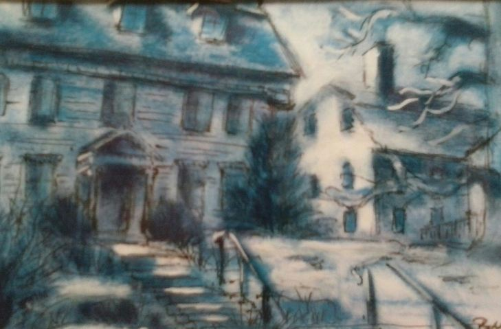 Paul Neily-- Gloucester Blue Sargent House