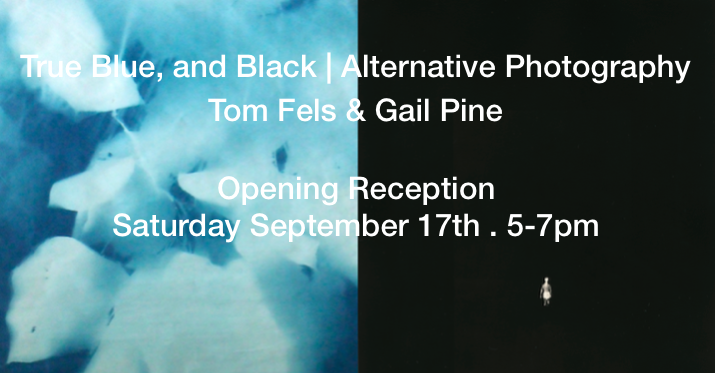 True Blue, and Black | Alternative Photography : Tom Fels & Gail Pine