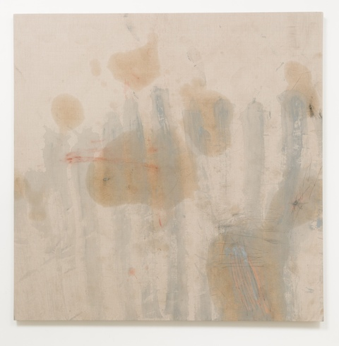 jane hugentober 2013 each lovingly part of the whole Oil, acrylic, gouache, colored pencil, graphite and dirt on linen
