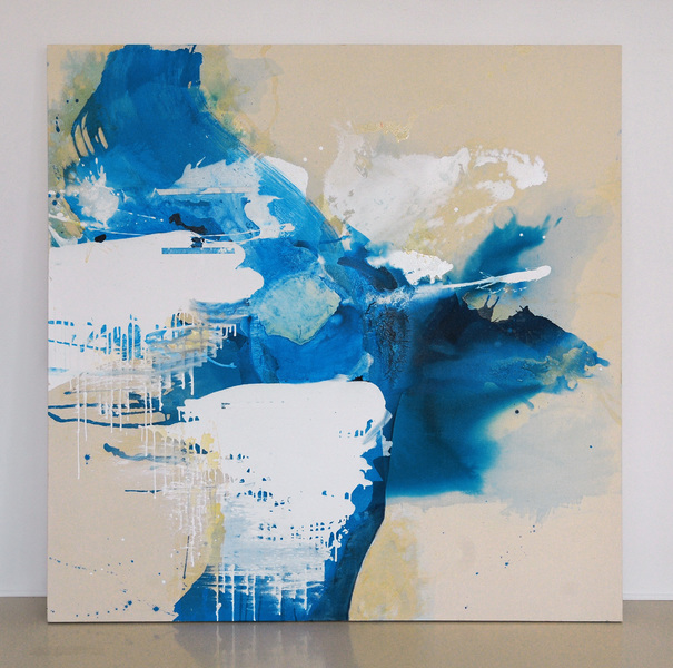 Selected Paintings Blue Crystals Revisited no. 1