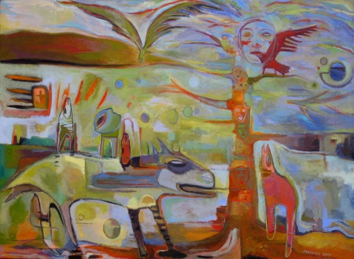 JANET MATHIAS Oil Paintings oil on canvas