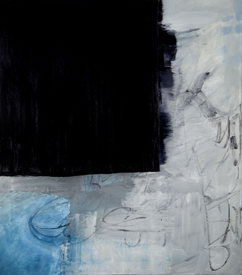 JANET OLNEY 2012 oil and charcoal on canvas