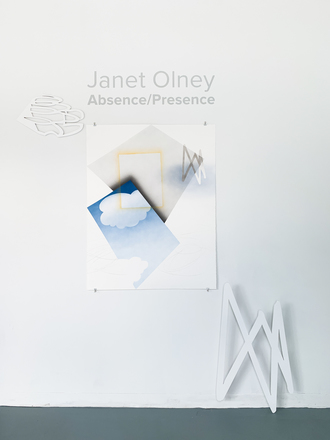 JANET OLNEY 2019 Project installation at the ICA Baltimore