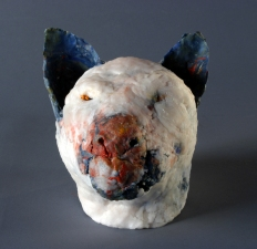 JAN HARRISON Recent Sculpture beeswax, damar resin and encaustic