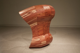 Sculpture Cedar and Plywood