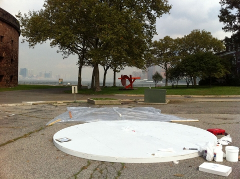A Zero State <br>Governors Island, New York 2011<br>