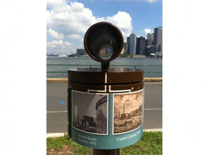 A Zero State <br>Governors Island, New York 2011<br> World Trade Center