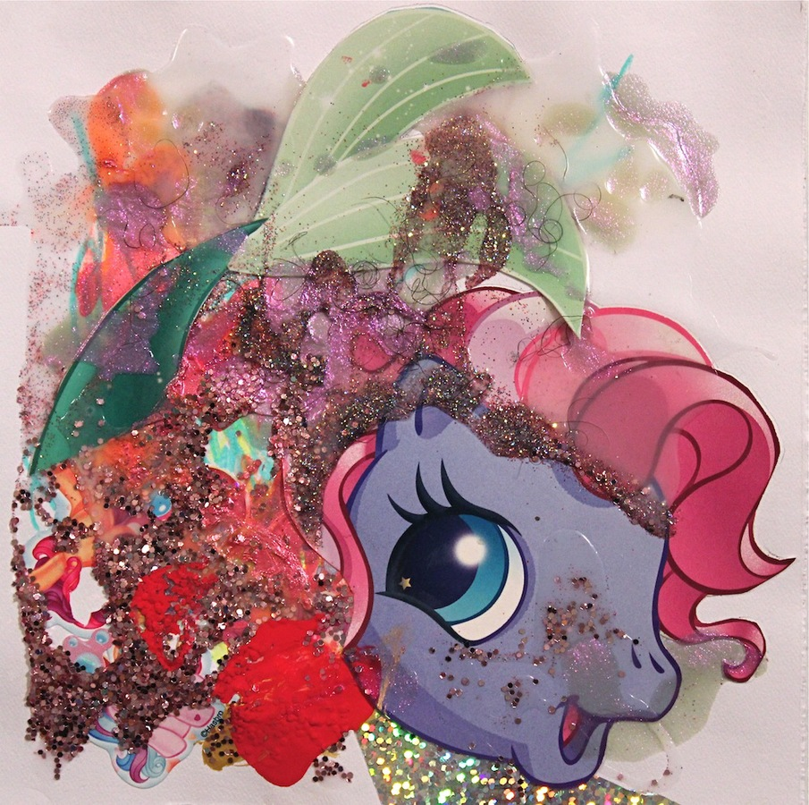 Drawings Under the Sea Pony