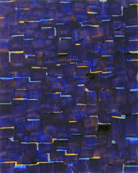 2010-2011 PAINTINGS Untitled (purple)