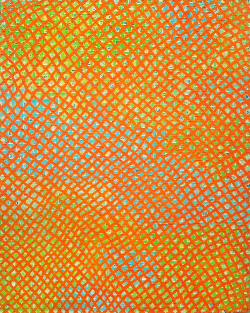 2010-2011 PAINTINGS X-initiative, (orange)