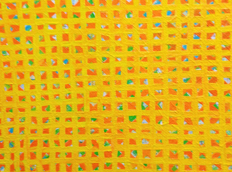 AFFORDABLE ART FAIR DETAIL, YELLOW GRID