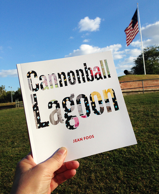 Jean Foos CANNONBALL LAGOON (the book) 48-page full-color book,
