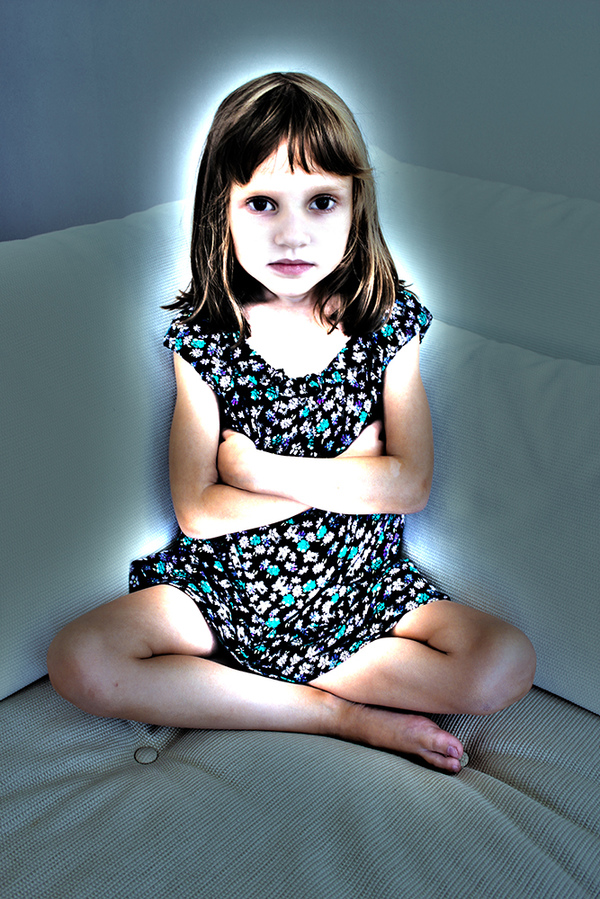 Jeanne Szilit Enigma  - Children's Darkness Digital Photo Transfer