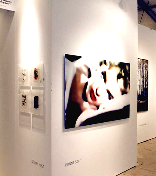 Jeanne Szilit 2013  SCOPE ART BASEL MIAMI BEACH (Installations) Chromogenic Print on Acrylic / Aludibond