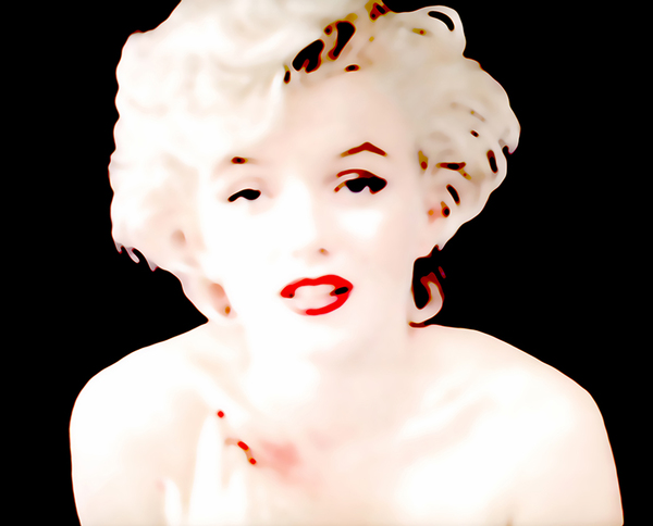 Jeanne Szilit Marilyn Monroe - Imagine through Desire Series Chromogenic Photo Print on EPSOM  Premium Glossy Photo Paper