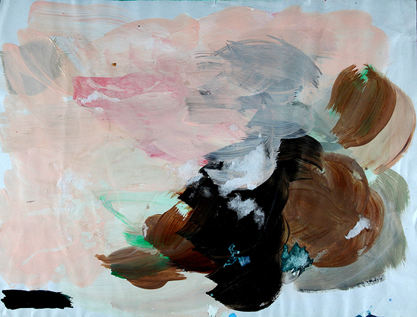Jeanne Szilit Paper Work Acryl on Paper