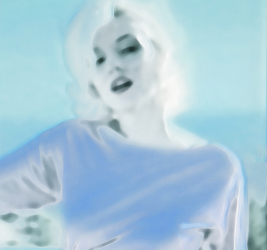 Jeanne Szilit Marilyn Monroe - Imagine through Desire Chromogenic Photo Print on EPSOM  Premium Glossy Photo Paper