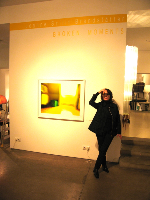 "Jeanne Szilit Tony Subal Gallery ""Broken Moments"" 2008"