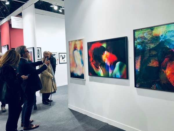 Jeanne Szilit PARIS PHOTO 2018 (Installations) BOOTH C1
