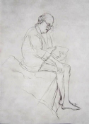 Jeanne Wilkinson Drawings of Clem (1994) Graphite on paper