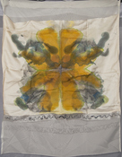 Jeanne Wilkinson 5. Symmetry Paintings (2000) Acrylic on silk