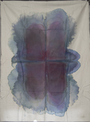 Jeanne Wilkinson 5. Symmetry Paintings (2000) Acrylic on cotton fabric
